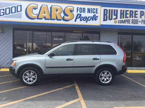 2004 Volvo XC90 for sale at Good Cars 4 Nice People in Omaha NE