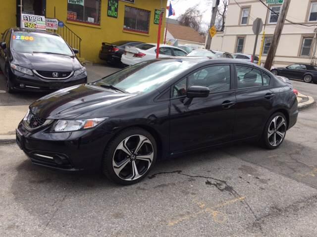 2015 Honda Civic Si 4dr Sedan W/Summer Tires   New Rochelle NY