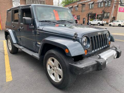 2008 Jeep Wrangler Unlimited Sahara for sale at White River Auto Sales in New Rochelle NY