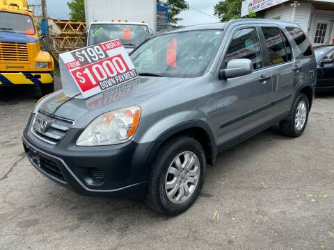 2006 Honda CR-V EX for sale at White River Auto Sales in New Rochelle NY