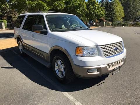 2003 Ford Expedition for sale at Car Guys in Kent WA
