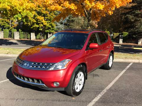2007 Nissan Murano for sale at Car Guys in Kent WA