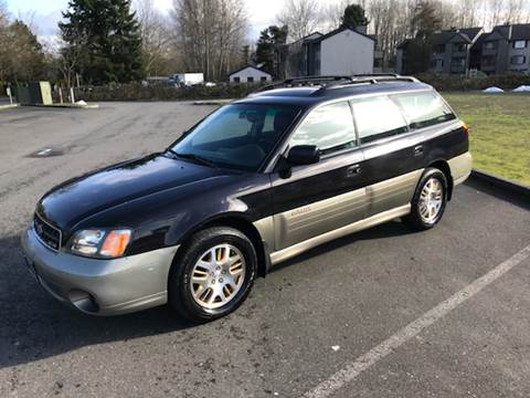 2003 Subaru Outback for sale at Car Guys in Kent WA
