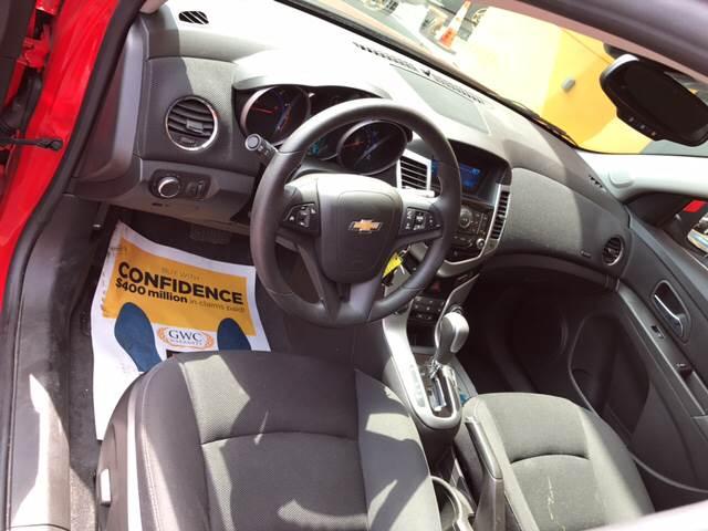 2016 Chevrolet Cruze Limited 1LT Auto 4dr Sedan w/1SD - Pittsburgh PA