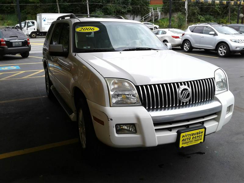 2006 Mercury Mountaineer AWD Premier 4dr Crossover - Pittsburgh PA
