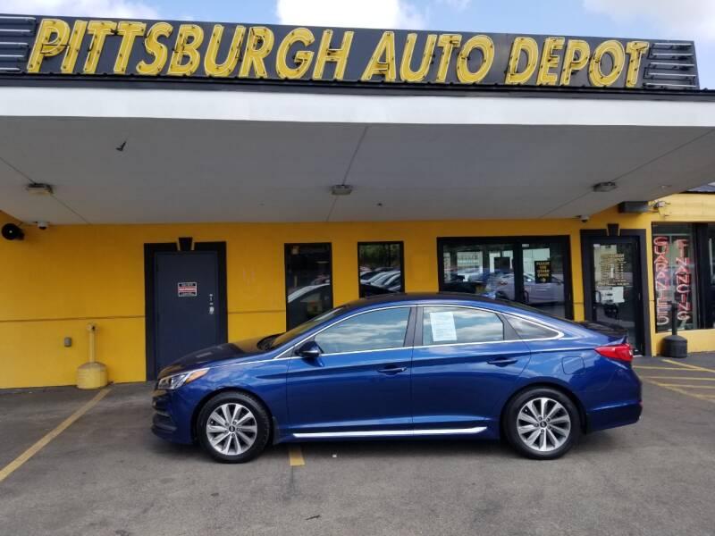 2017 Hyundai Sonata Limited 4dr Sedan PZEV - Pittsburgh PA