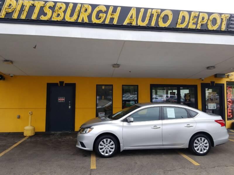 2017 Nissan Sentra S 4dr Sedan 6M - Pittsburgh PA