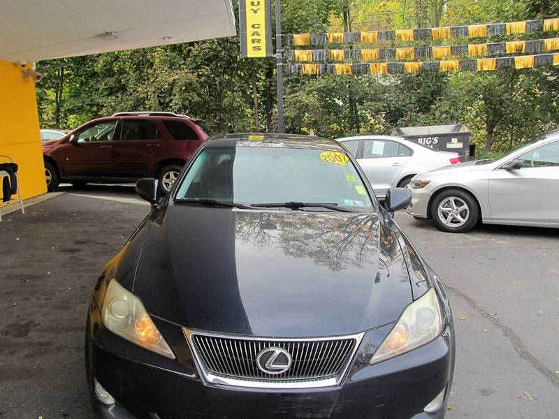 2007 Lexus IS 250 AWD 4dr Sedan (2.5L V6 6A) - Pittsburgh PA