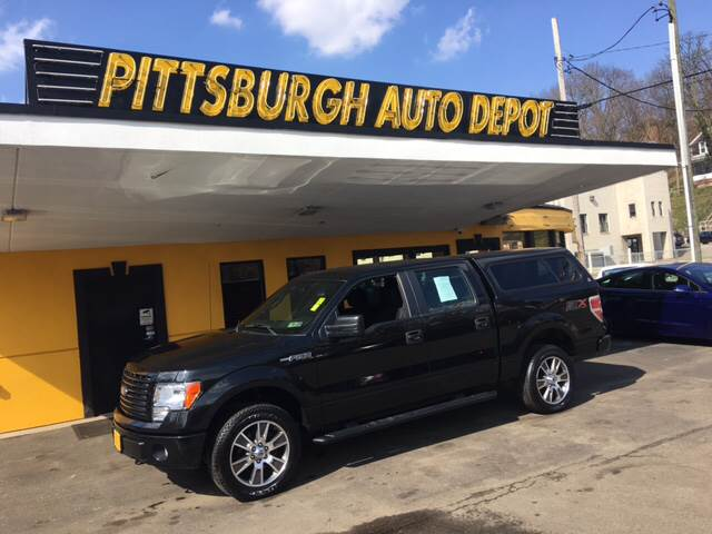 2014 Ford F-150 4x4 STX 4dr SuperCrew Styleside 5.5 ft. SB - Pittsburgh PA