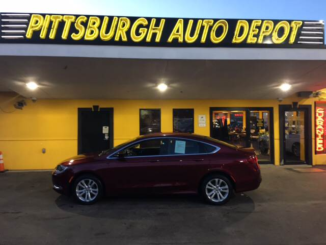 2016 Chrysler 200 Limited 4dr Sedan - Pittsburgh PA