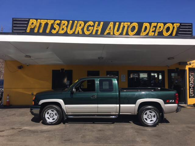 2007 Chevrolet Silverado 1500 Classic LT2 4dr Extended Cab 4WD 6.5 ft. SB - Pittsburgh PA