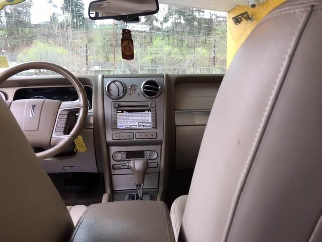 2006 Lincoln Zephyr 4dr Sedan - Pittsburgh PA