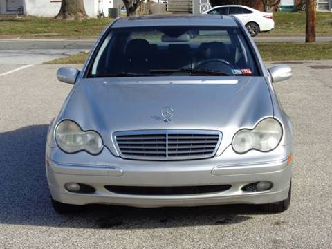2004 Mercedes-Benz C-Class C 320 4MATIC for sale at MAIN STREET MOTORS in Norristown PA