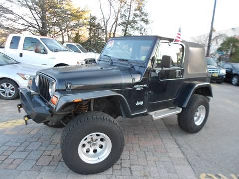 1999 Jeep Wrangler for sale in Farmingdale, NY