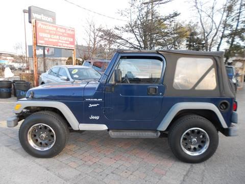 2002 Jeep Wrangler for sale in Farmingdale, NY