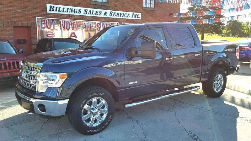 2014 Ford F-150 4x4 XLT 4dr SuperCrew Styleside 6.5 ft. SB - Clyde OH
