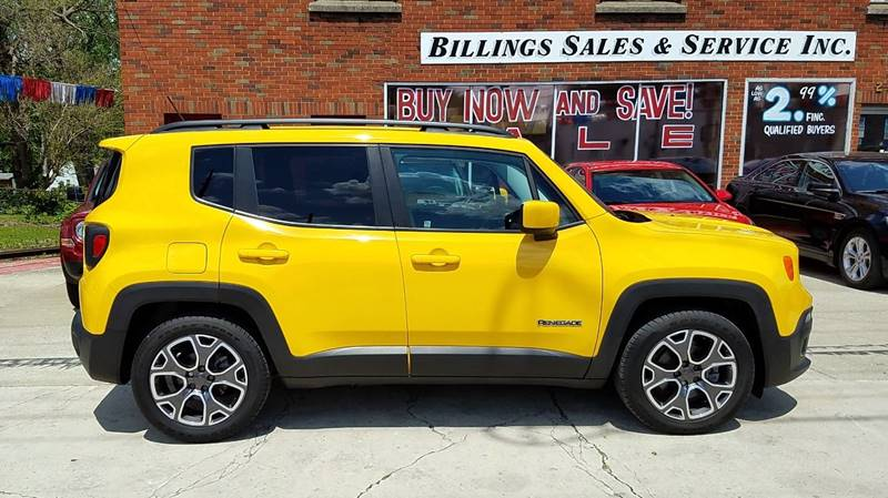 2015 Jeep Renegade Latitude 4dr SUV - Clyde OH