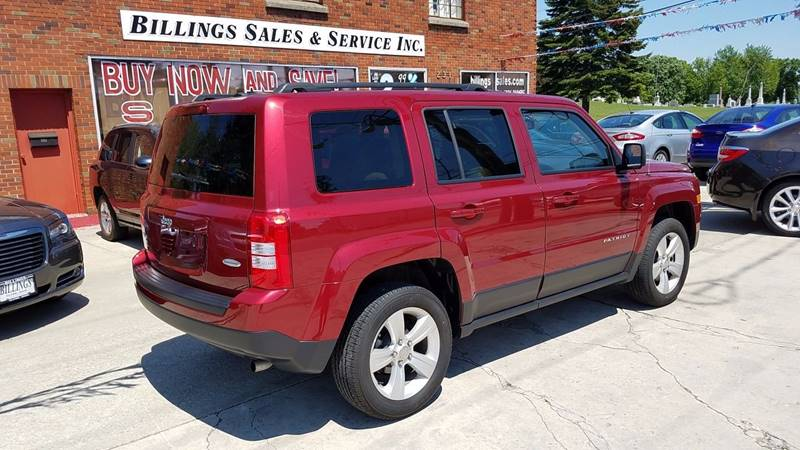 2015 Jeep Patriot 4x4 Latitude 4dr SUV - Clyde OH