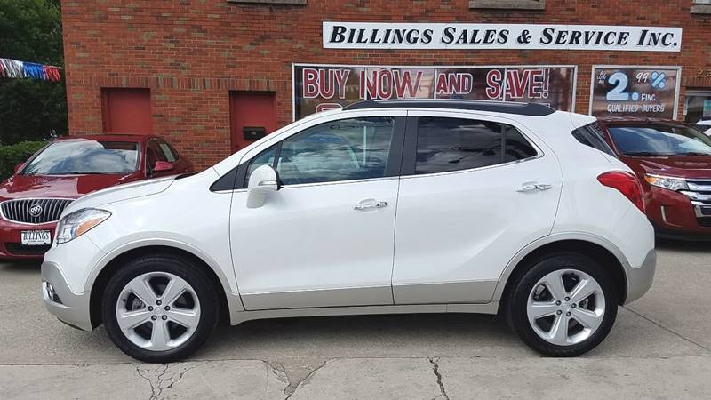 2015 Buick Encore Leather 4dr Crossover - Clyde OH