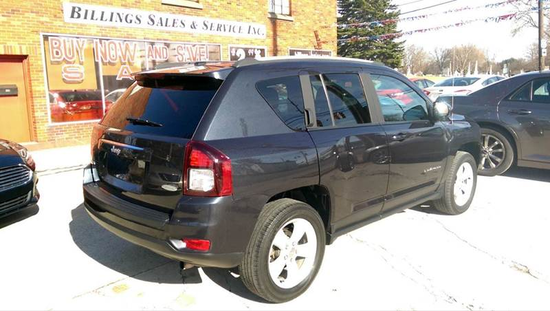 2015 Jeep Compass 4x4 Latitude 4dr SUV - Clyde OH