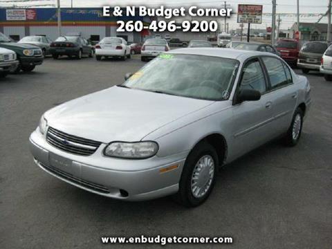 Chevrolet Used Cars Vans For Sale Fort Wayne E N Budget Corner