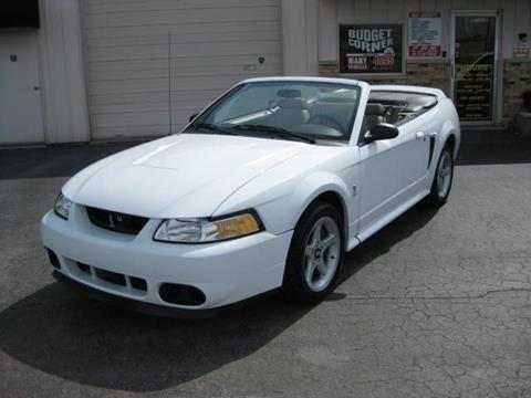 1999 Ford Mustang SVT Cobra for sale in Fort Wayne, IN