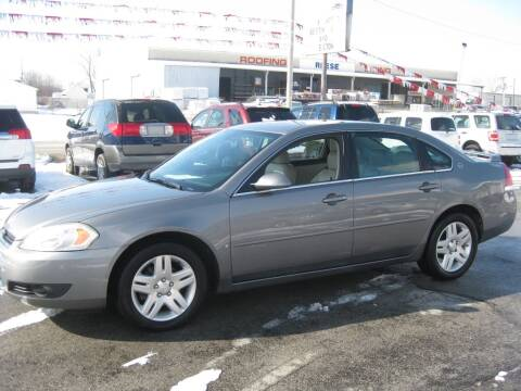 2006 Chevrolet Impala LTZ for sale at Budget Corner in Fort Wayne IN
