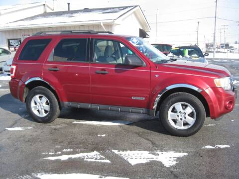 2008 Ford Escape XLT for sale at Budget Corner in Fort Wayne IN
