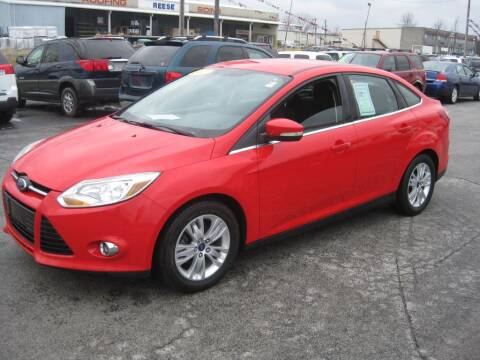 2012 Ford Focus SEL for sale at Budget Corner in Fort Wayne IN