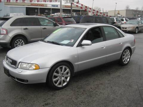 2001 Audi A4 1.8T quattro for sale at Budget Corner in Fort Wayne IN