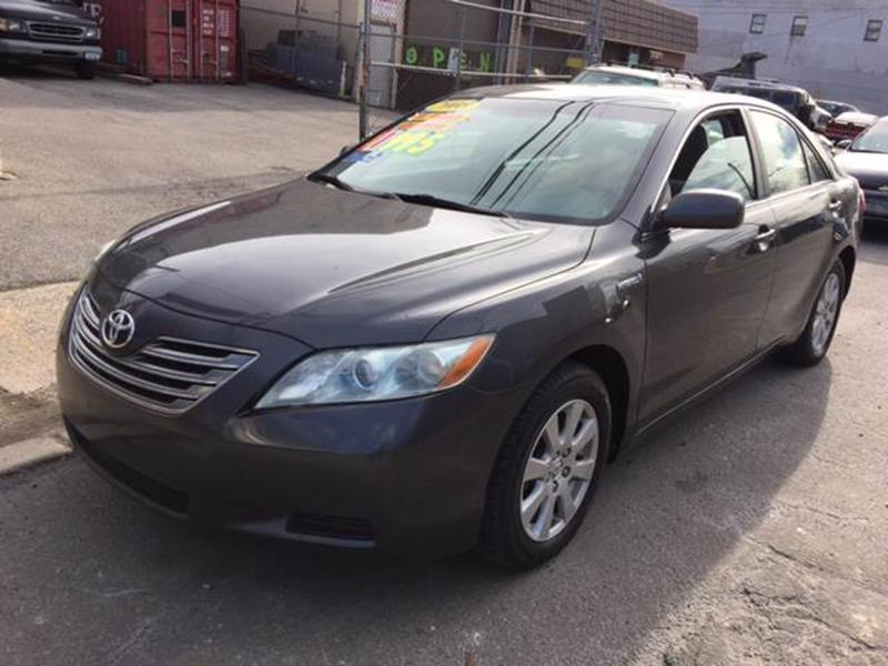 2008 toyota camry hybrid 4dr sedan in yonkers ny deleon mich auto sales. Black Bedroom Furniture Sets. Home Design Ideas