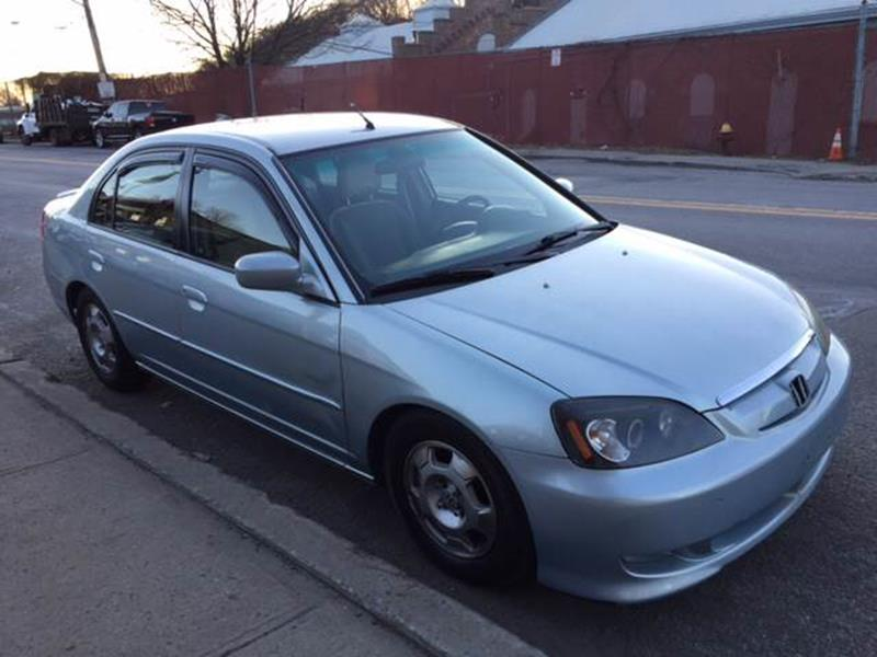 2003 Honda Civic Hybrid 4dr Sedan   Yonkers NY