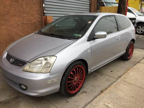 2002 Honda Civic for sale at Deleon Mich Auto Sales in Yonkers NY