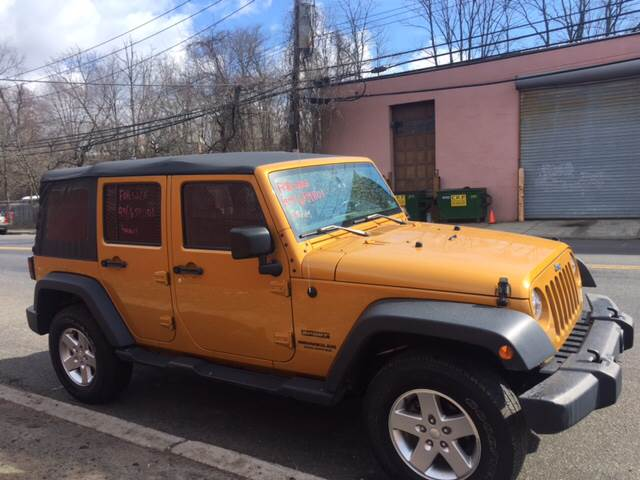 2014 Jeep Wrangler Unlimited 4x4 Sport 4dr SUV In Yonkers NY ...