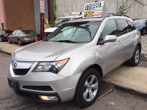 2010 Acura MDX for sale at Deleon Mich Auto Sales in Yonkers NY
