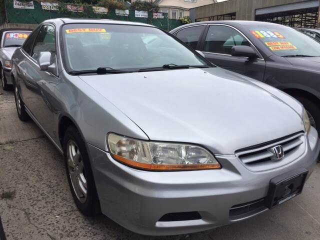 2001 Honda Accord EX V6 2dr Coupe   Yonkers NY