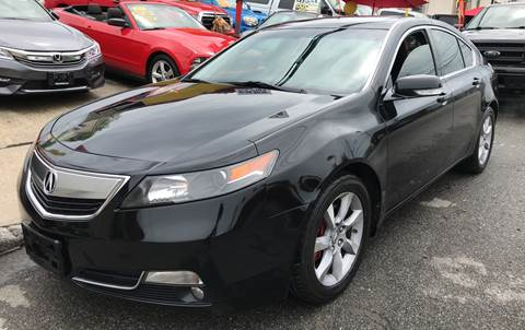 2012 Acura TL for sale at Deleon Mich Auto Sales in Yonkers NY