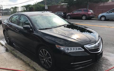 2016 Acura TLX for sale at Deleon Mich Auto Sales in Yonkers NY