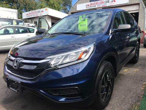 2016 Honda CR-V for sale at Deleon Mich Auto Sales in Yonkers NY