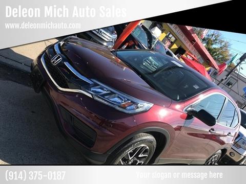 2016 Honda CR-V for sale at Deleon Mich Auto Sales in Yonkers NY