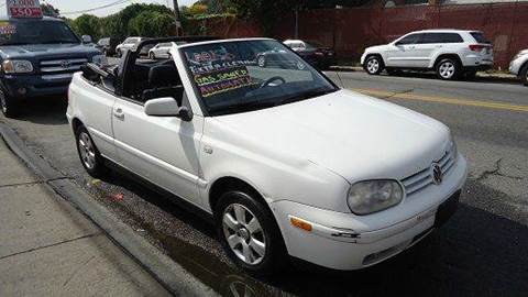 2001 Volkswagen Cabrio for sale in Yonkers, NY