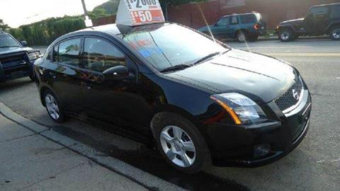 2012 Nissan Sentra for sale at Deleon Mich Auto Sales in Yonkers NY