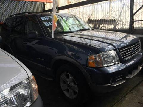 2002 Ford Explorer for sale at Deleon Mich Auto Sales in Yonkers NY