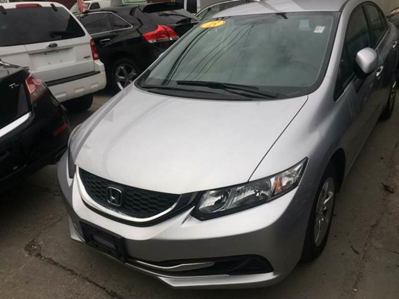 2013 honda civic lx 4dr sedan 5a in yonkers ny deleon for Yonkers honda service center