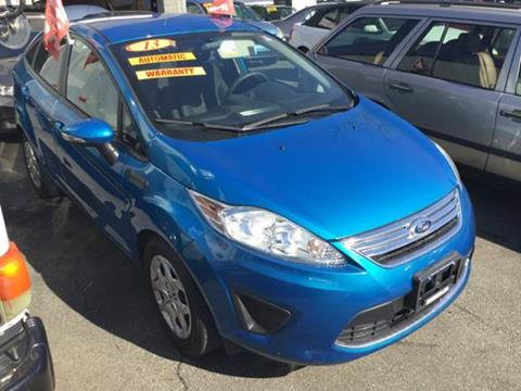 2013 Ford Fiesta for sale at Deleon Mich Auto Sales in Yonkers NY