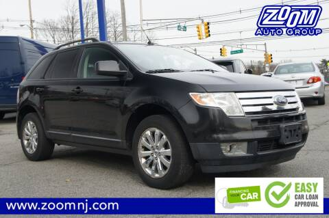 2010 Ford Edge SEL for sale at Zoom Auto Group in Parsippany NJ