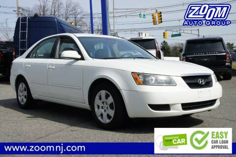 2008 Hyundai Sonata GLS for sale at Zoom Auto Group in Parsippany NJ