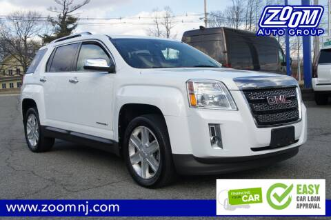 2011 GMC Terrain SLT-2 for sale at Zoom Auto Group in Parsippany NJ