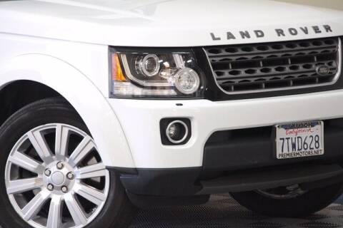 2016 Land Rover LR4