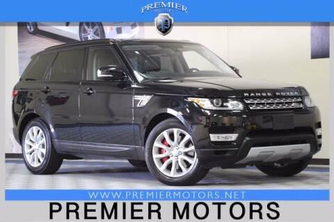 2016 Land Rover Range Rover Sport for sale at Premier Motors in Hayward CA